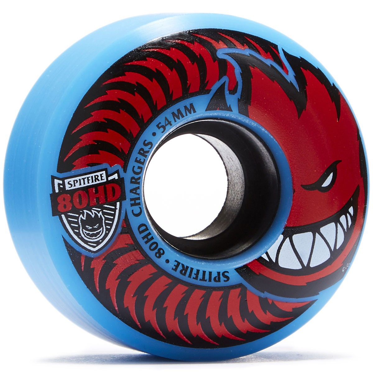 Spitfire 80HD Chargers Classic Skateboard Wheels - Blue/Red - 54mm
