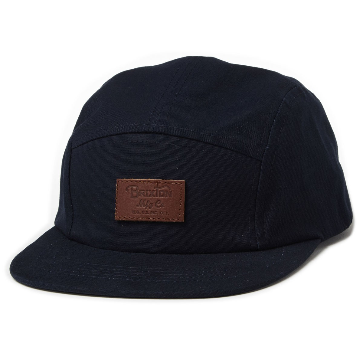 528dcee047a8d ... cheapest brixton grade 5 panel hat navy 75282 b2ce6
