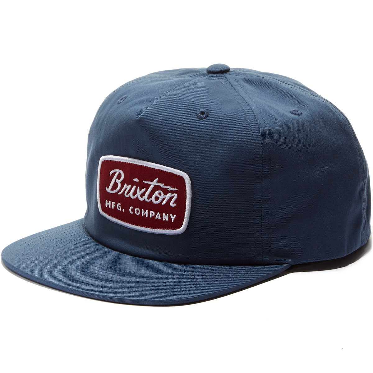 Brixton Jolt HP Snapback Hat - Washed Navy
