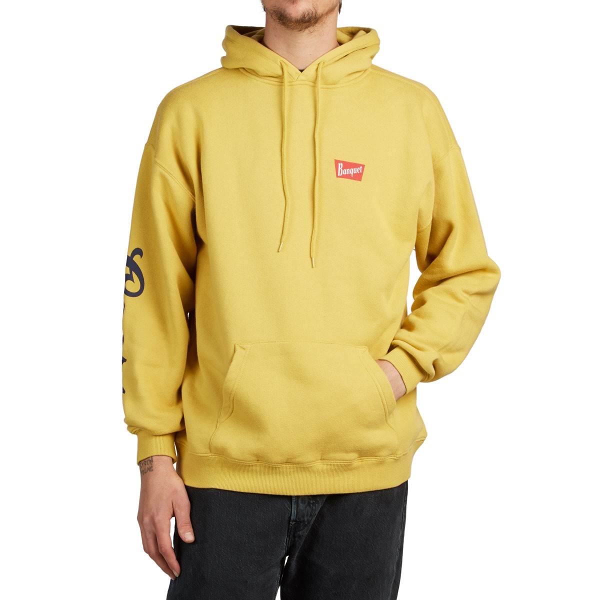 Brixton X Coors Banquet Hoodie - Buff adc072fe497