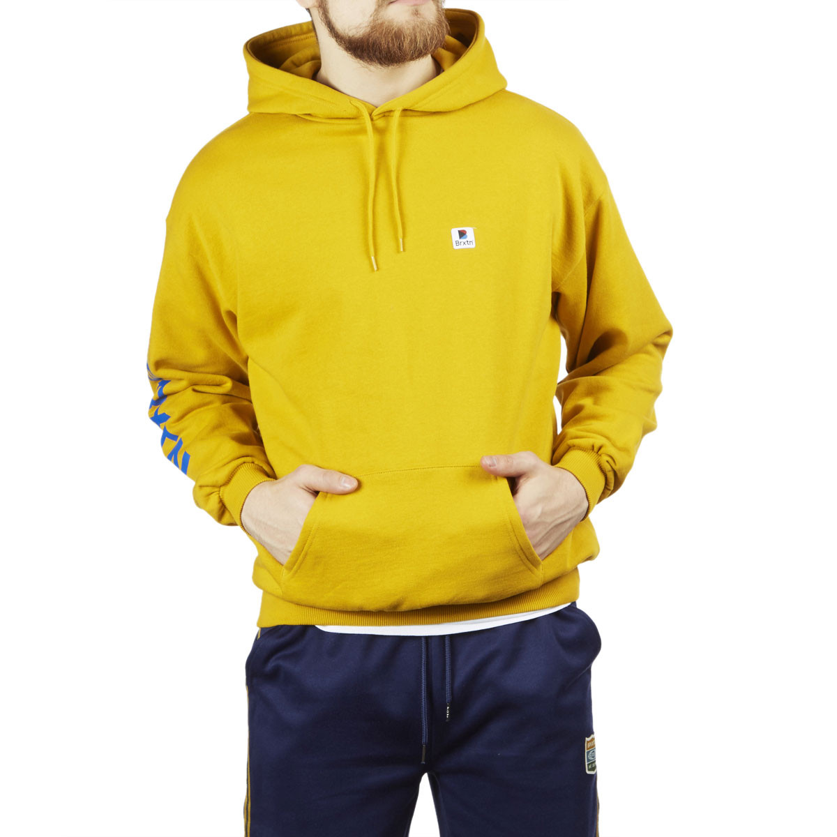 Brixton Stowell Hoodie Nugget Gold