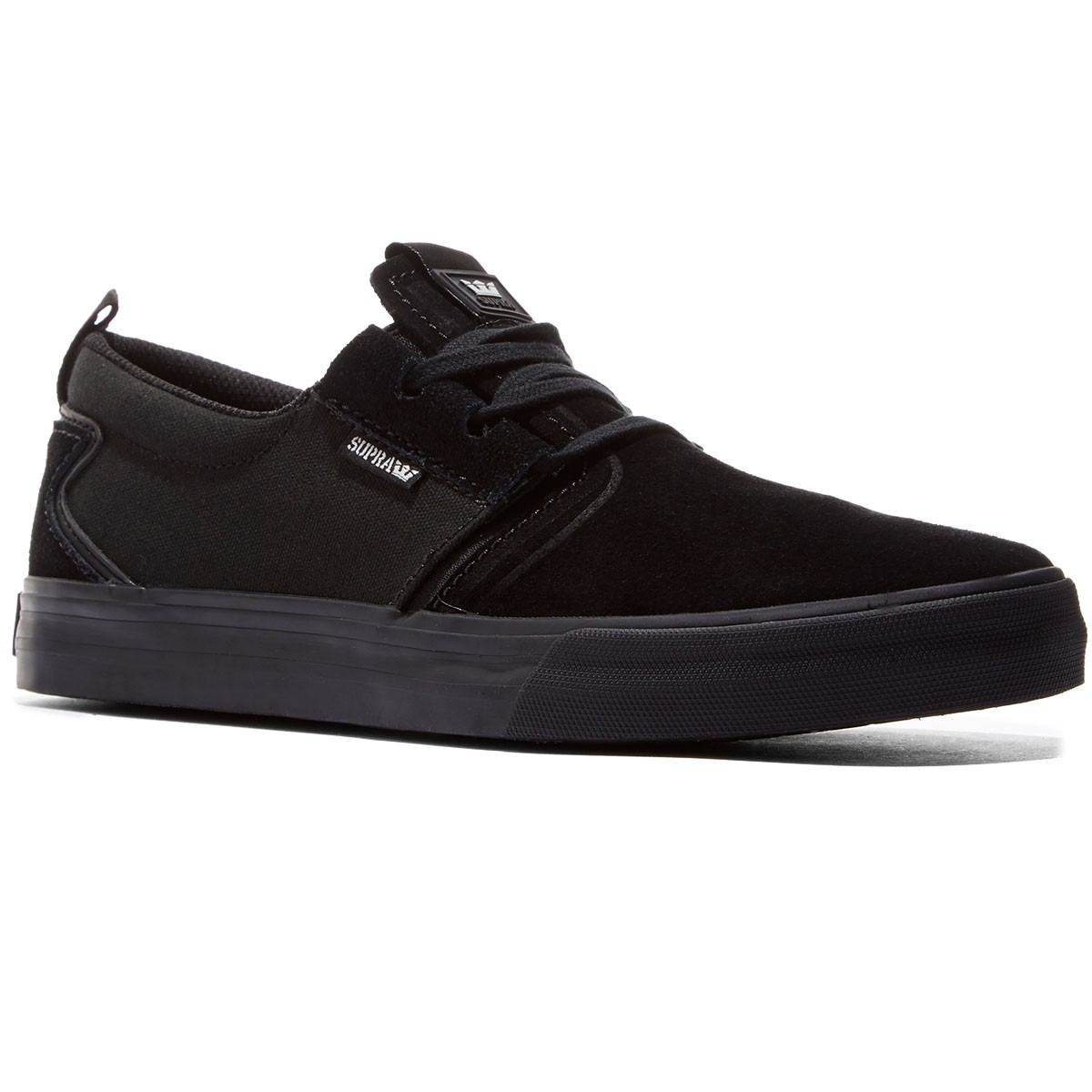 292e8f12432a Supra Flow Shoes - Black Black - 8.0