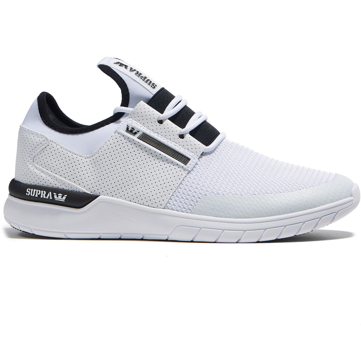 27d001032d6e Supra Flow Run Shoes - White White - 8.0