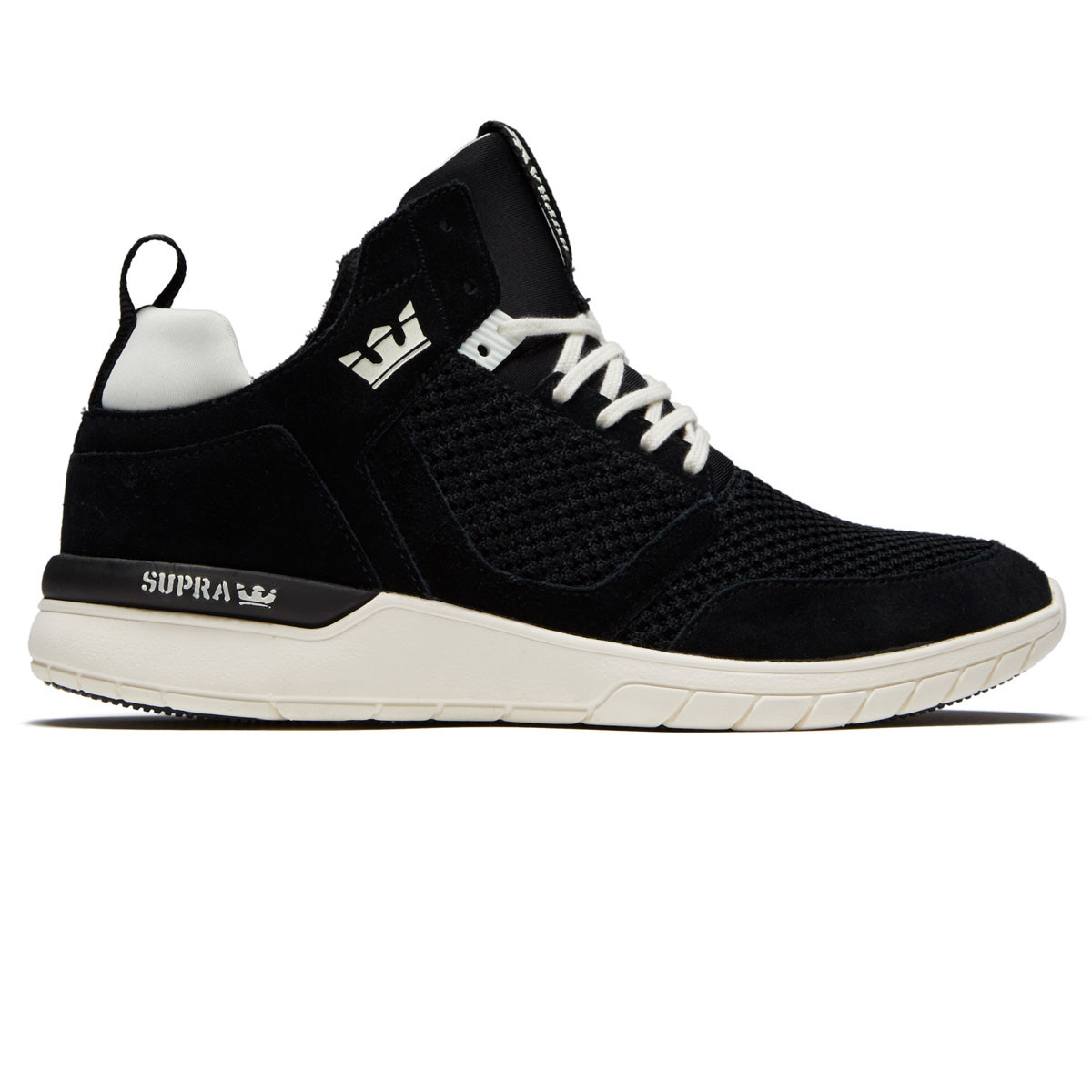 Supra Method Shoes - Black Off White fc5fa3be293