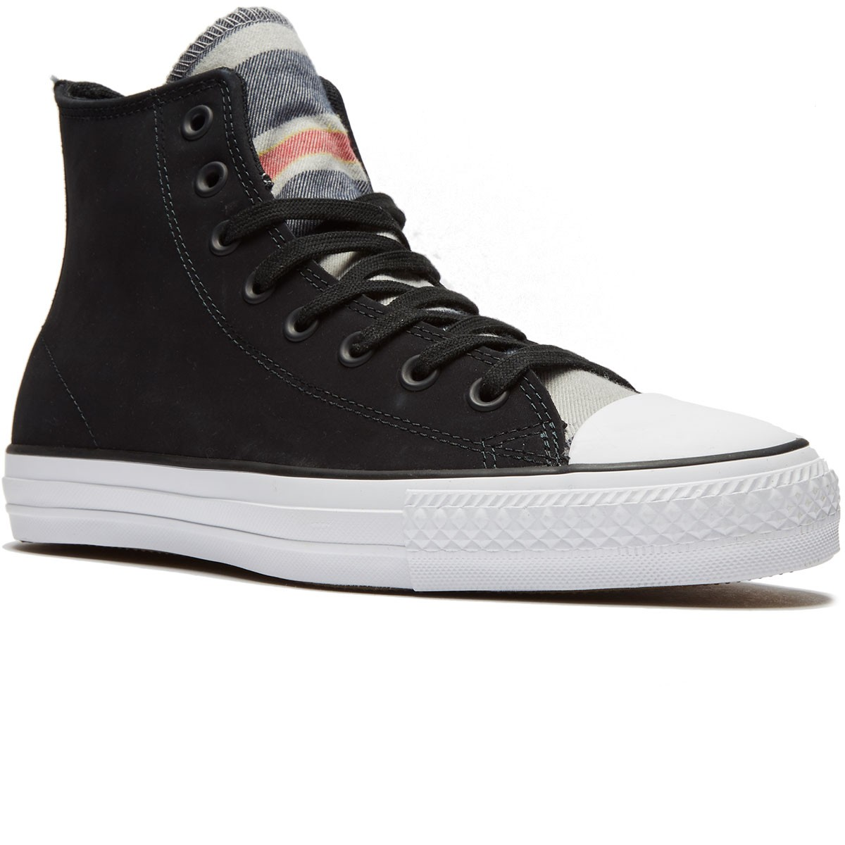 c98325a34bc03b Converse CTAS Pro Blanket Stripe Shoes - Black White Black - 8.0