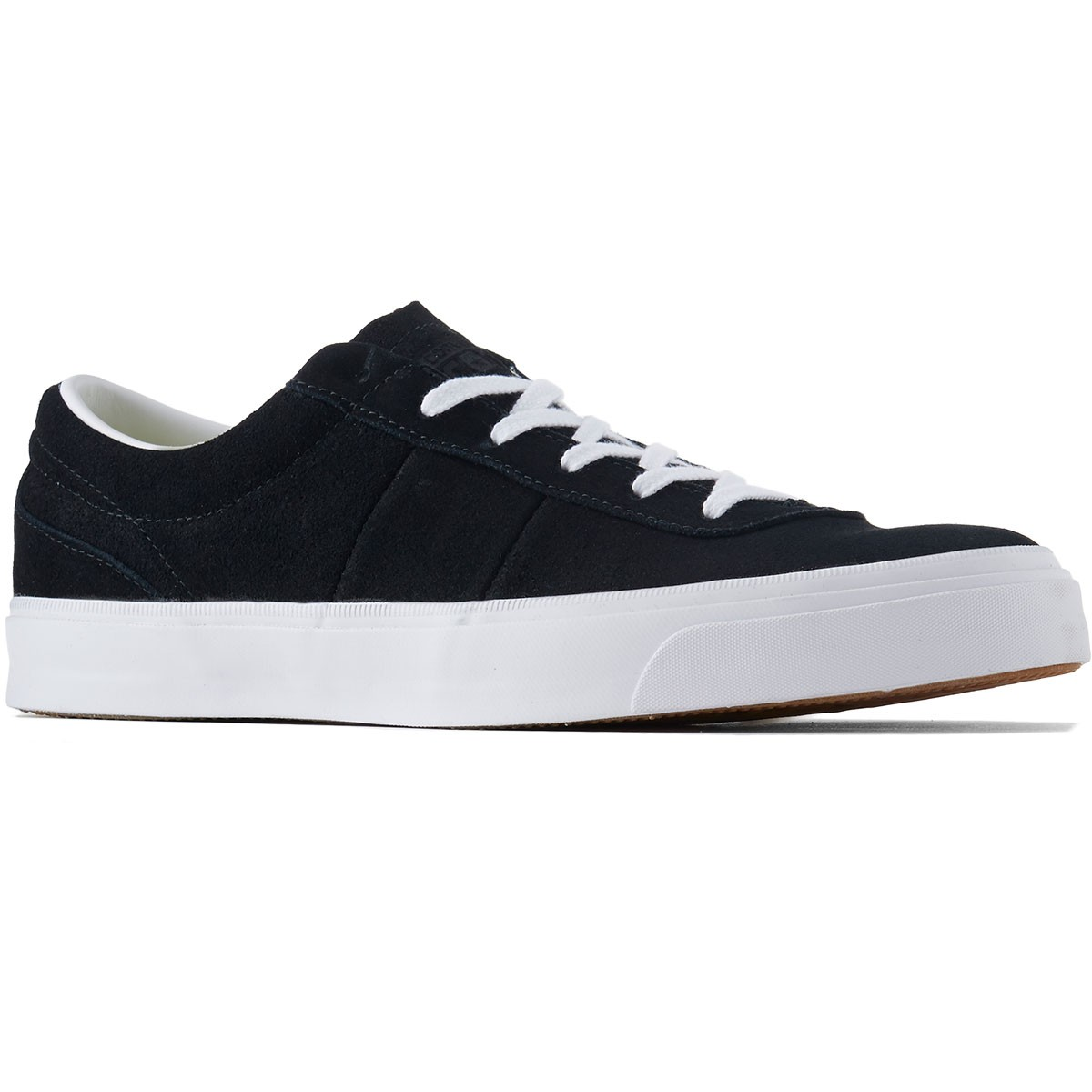 f23706756709 Converse One Star CC Pro OX Suede Shoes - Black White White - 8.0