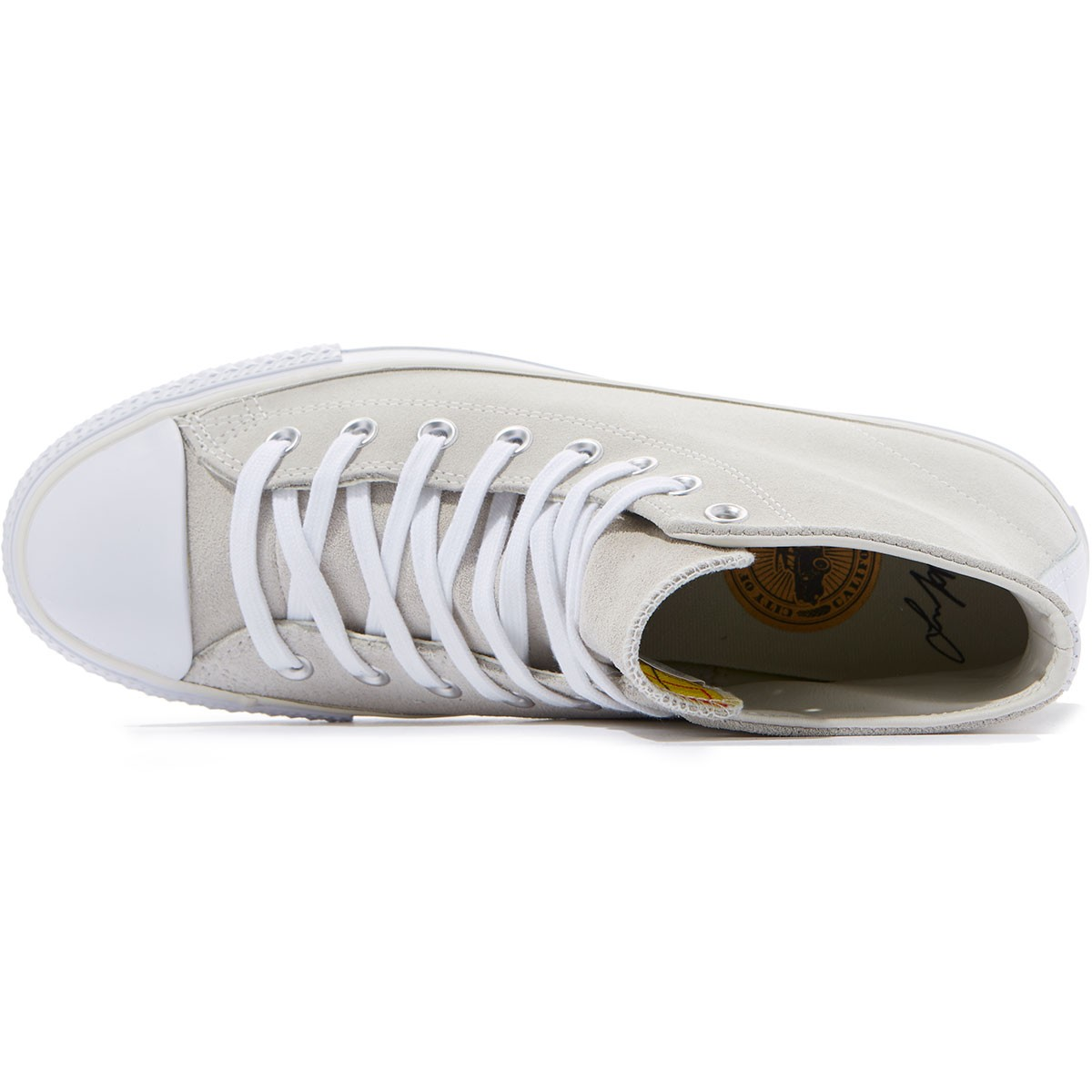 108391a25593 Converse CTAS Pro Hi Louie Lopez Suede Shoes - Buff White Casino - 8.0
