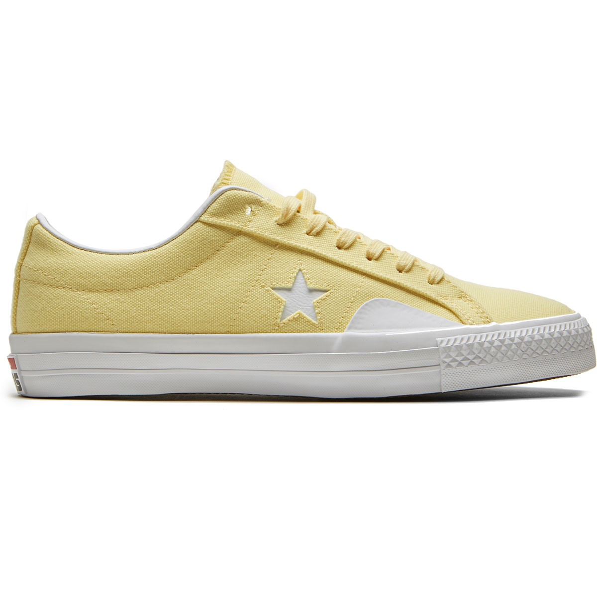 Converse x Chocolate One Star Pro Yellow & White Skate Shoes