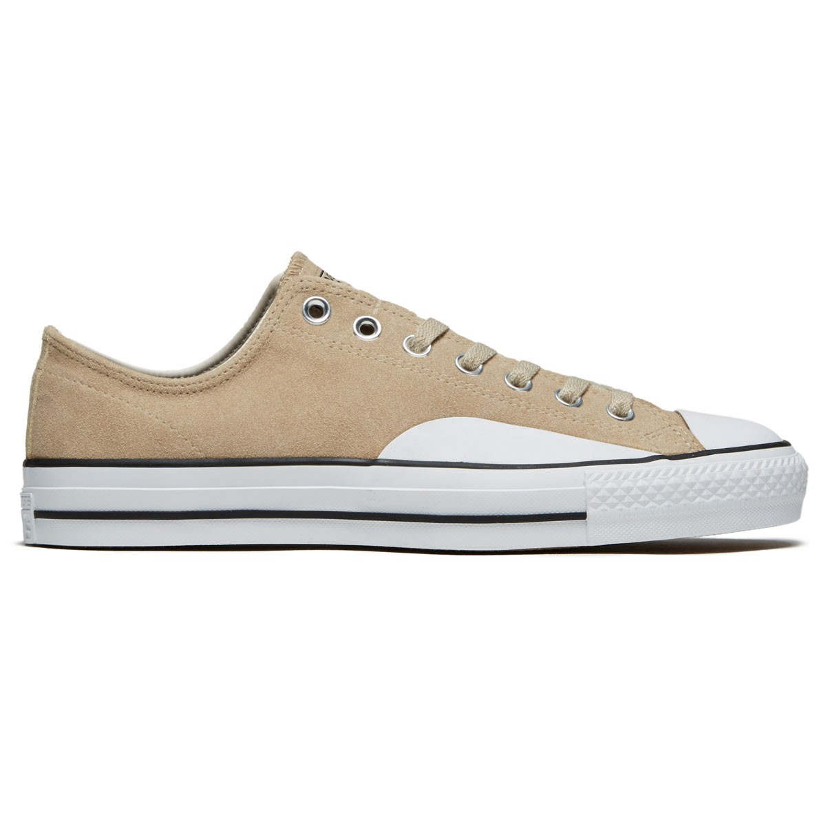 9fe267780a3b Converse CTAS Pro Low Top Shoes - Vintage Khaki Driftwood Black - 8.0
