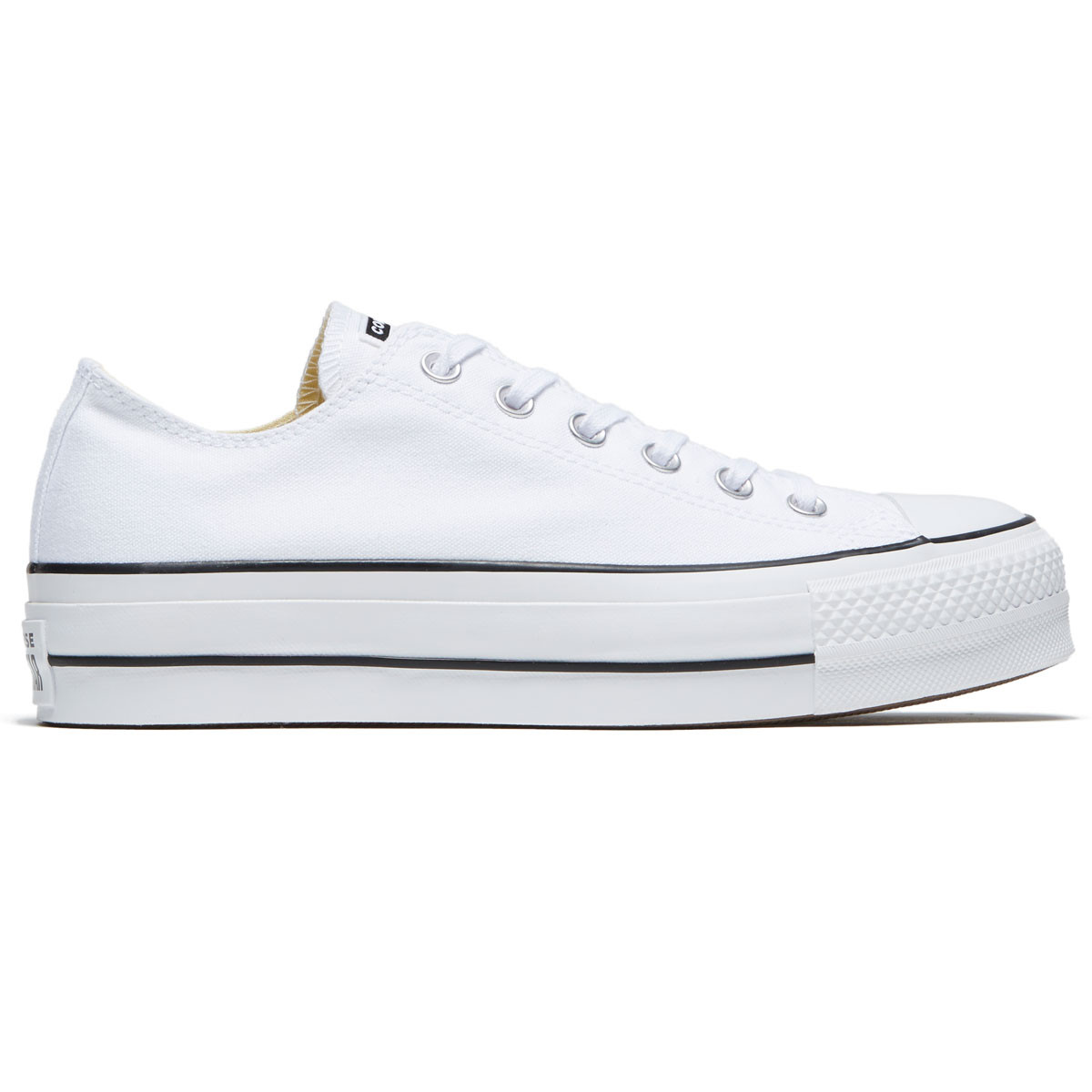 free shipping 848ff 13977 Converse Womens Chuck Taylor All Star Lift Shoes - Black/White/White - 6.0