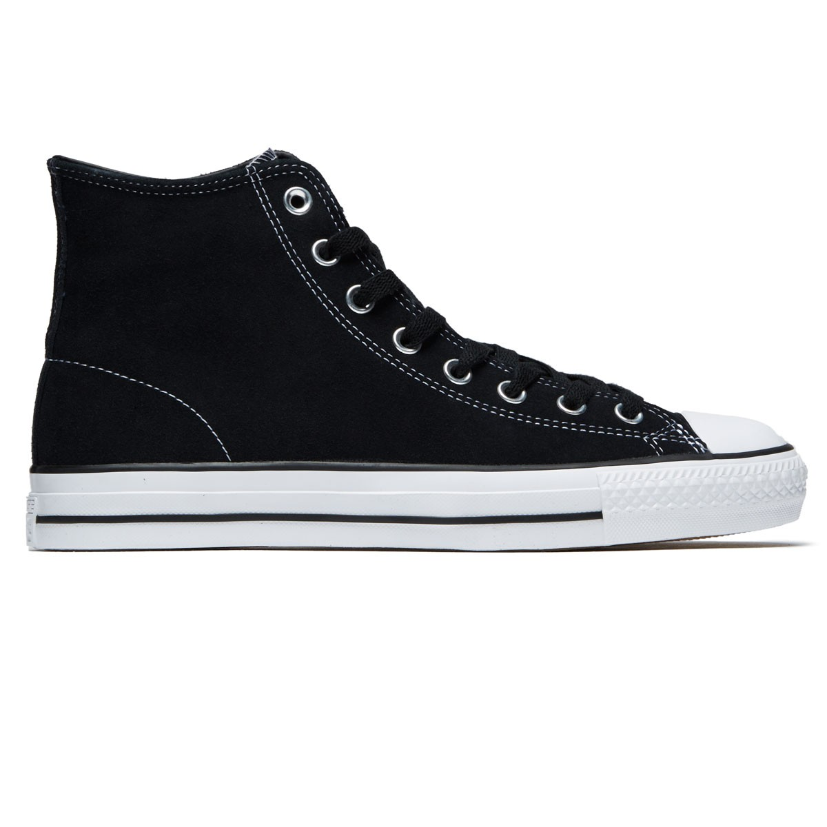 Converse Zoom Air CTAS Pro Hi Shoes - Black Black White 4d6baddcf