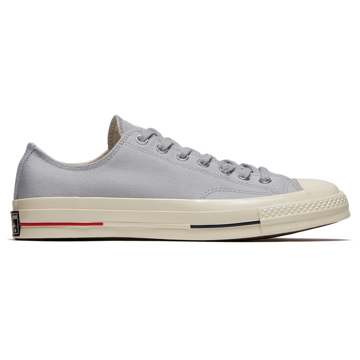 3467a935e89e Converse Chuck Taylor All Star 70 Ox Shoes - Wolf Grey Navy Gym Red