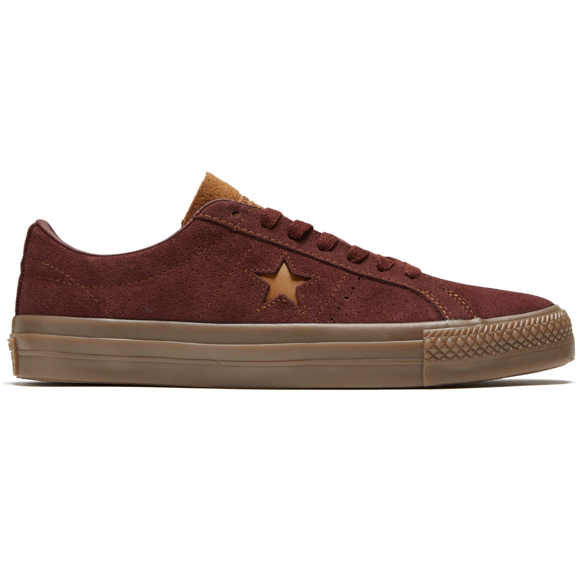 83255aab1d1ca6 Converse One Star Pro Ox Shoes - Barkroot Brown/Ale Brown/Brown