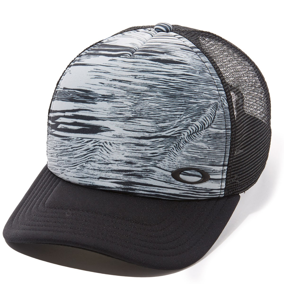 cdef9a2127ed9 Oakley Mesh Sublimated Trucker Hat - Blackout