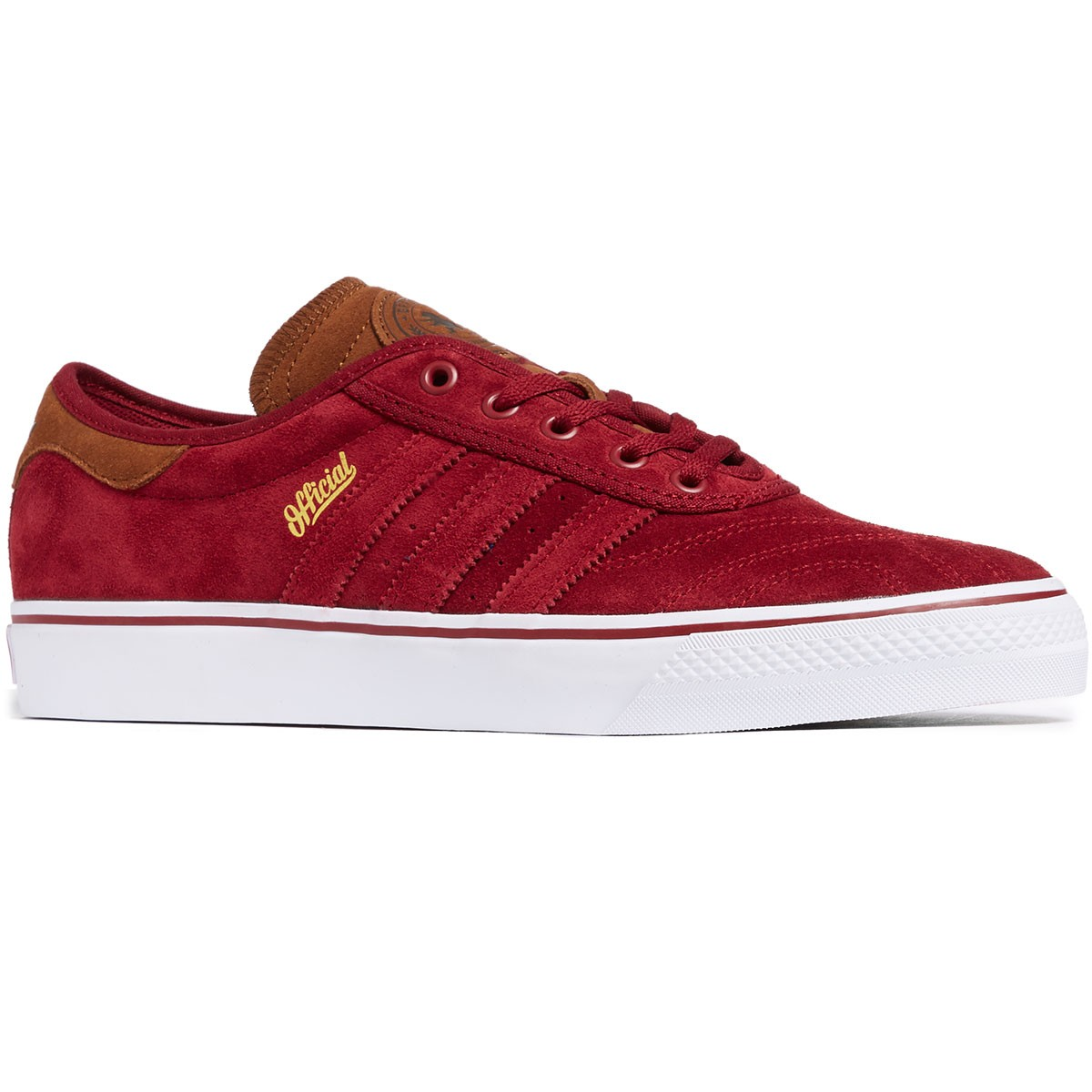 promo code 38afd 5f227 Adidas X Official Adi-Ease Premiere ADV Shoes - BurgundyBarkWhite -