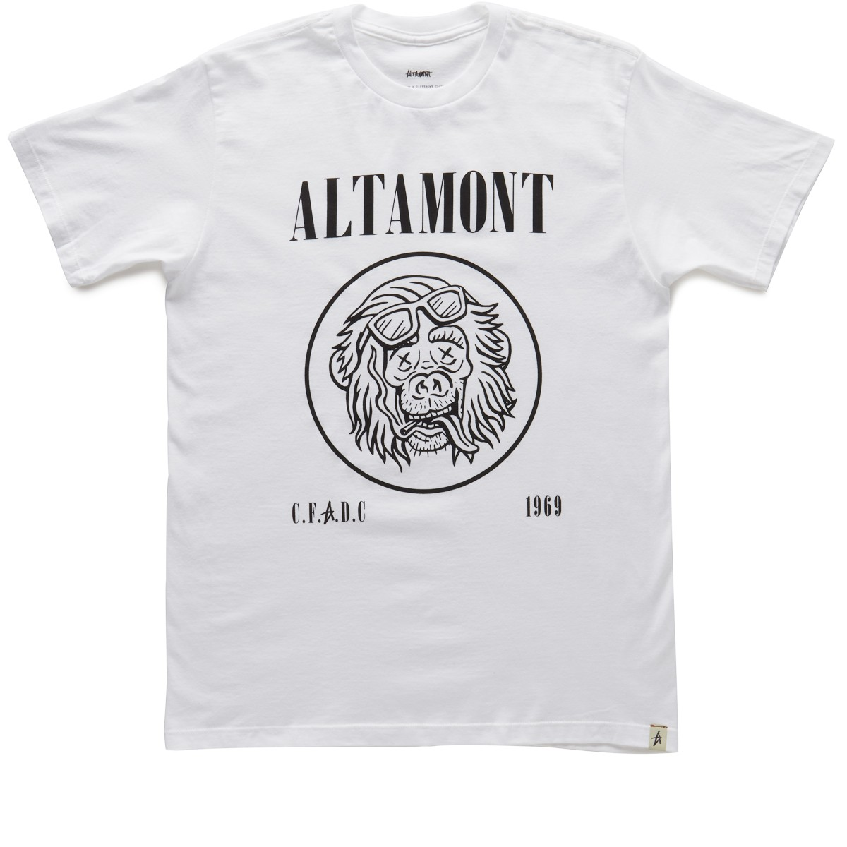 Altamont All Ages T-Shirt - White
