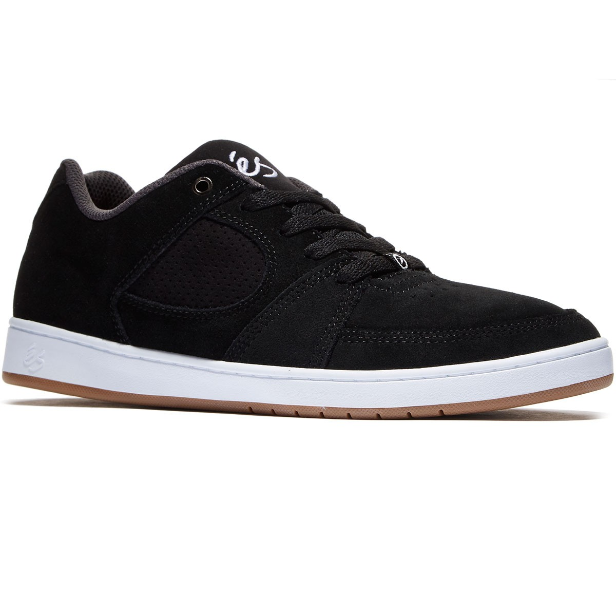 Skate shoes types - Es Accel Slim Shoes Navy Brown White