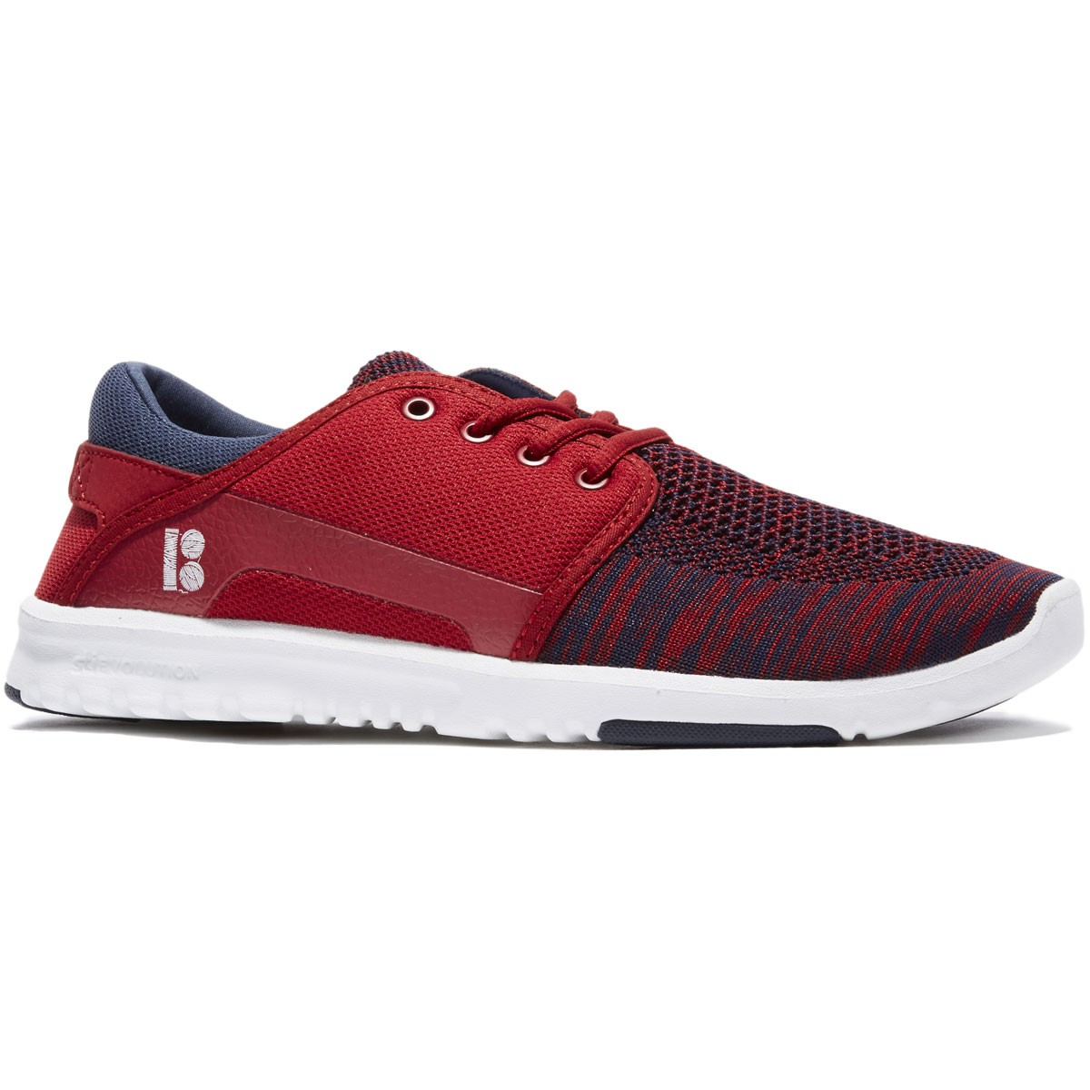 Etnies X Plan B Scout YB Shoes - Navy/Red/White - 8.0