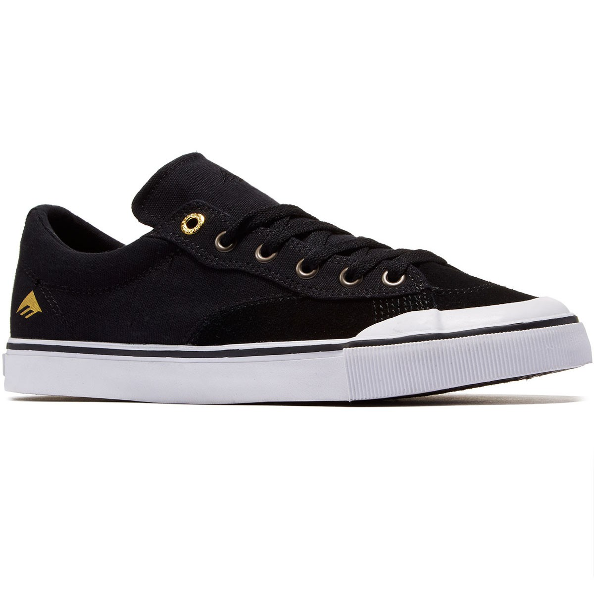 Emerica Indicator Low Shoes - Black/White - 8.0