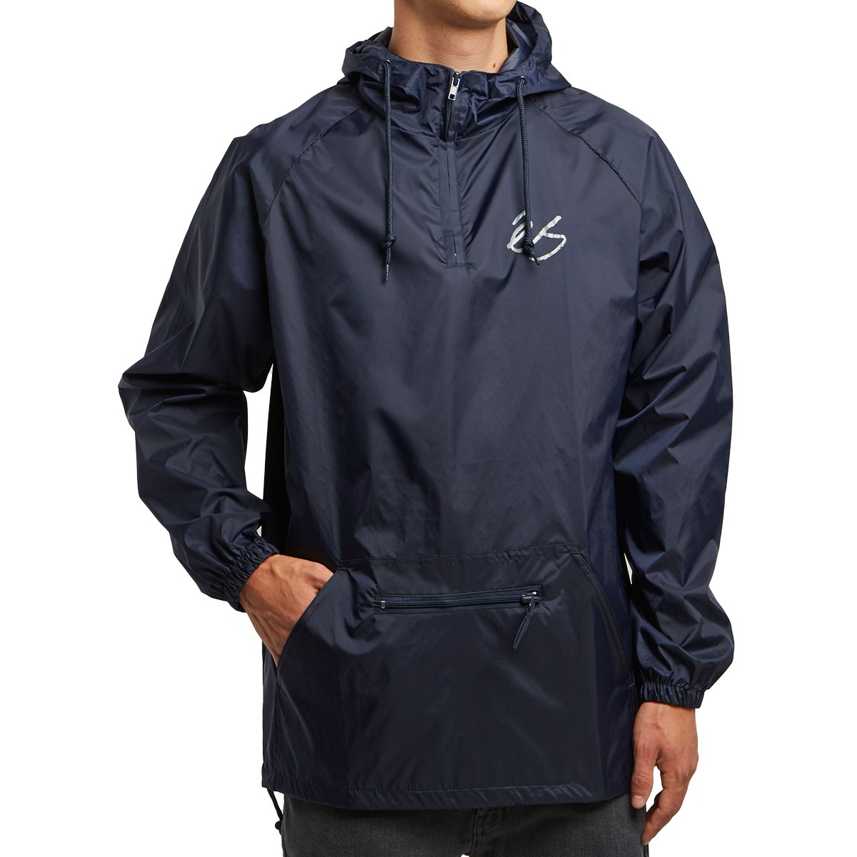 4413717c eS Packable Anorak Jacket - Navy