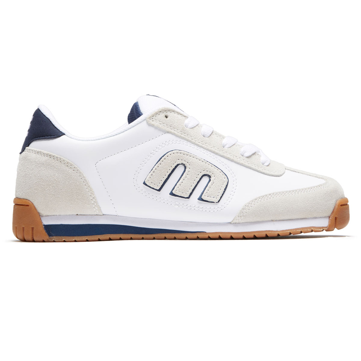 Etnies Lo-Cut II LS Trainers in White//Blue//Red