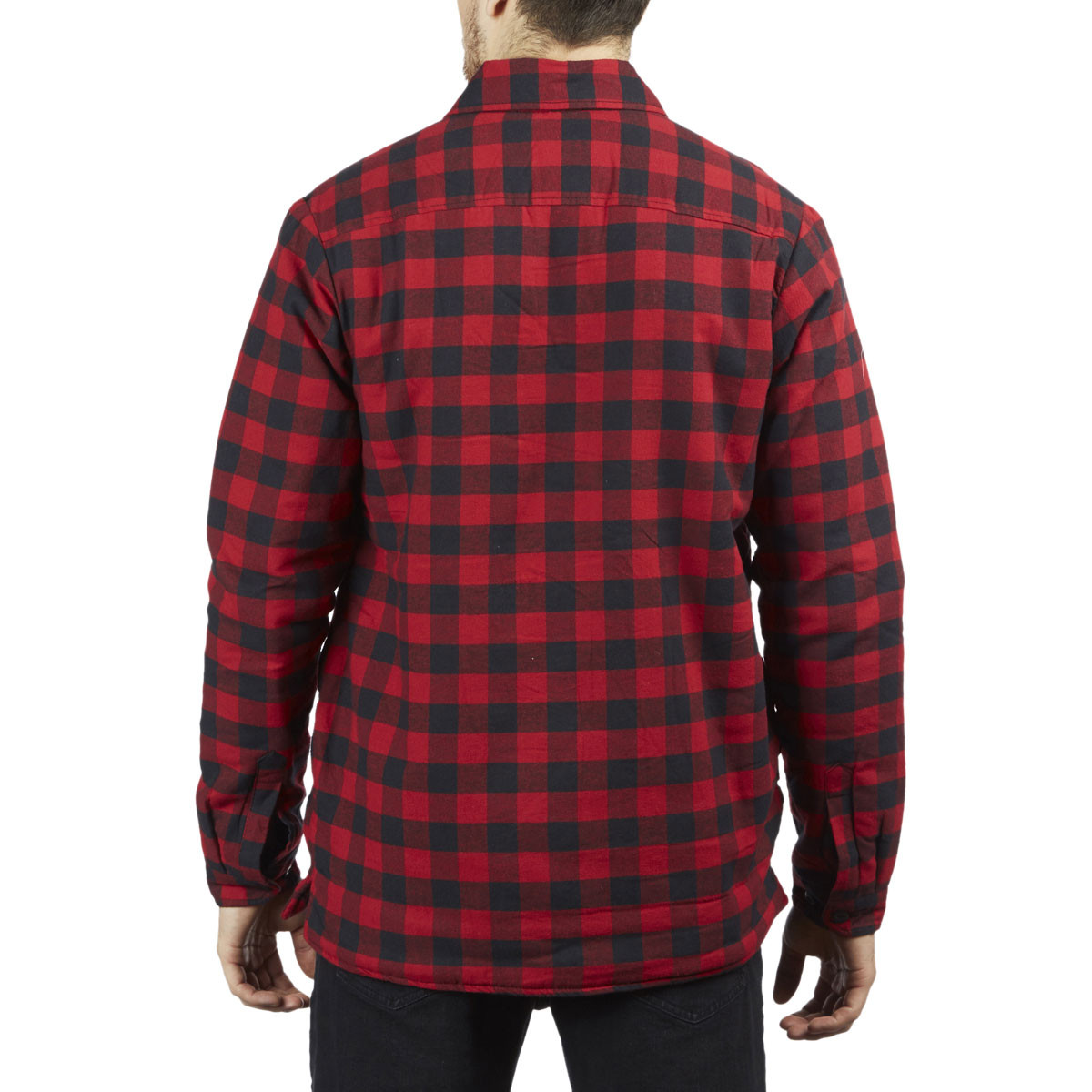 35630fc8 Dickies Flannel Shirt Sherpa Lined Jacket - Rinsed Green/Black ...