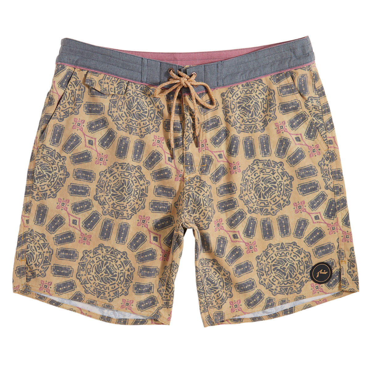 d0f9b69b6f Rusty Batok All Day Boardshorts - Fennel - 30