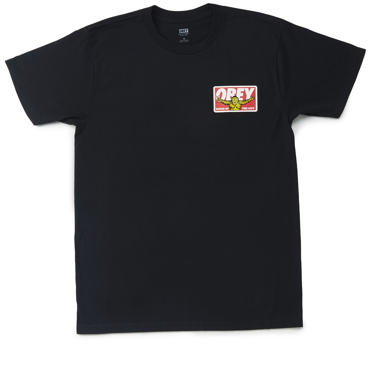 Obey Kings Of The City T Shirt Black