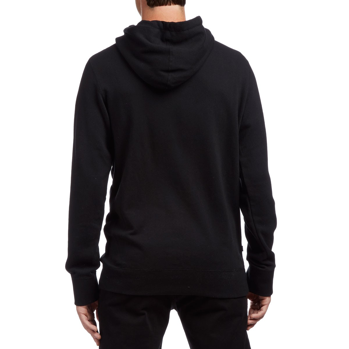obey north point pullover hoodie black