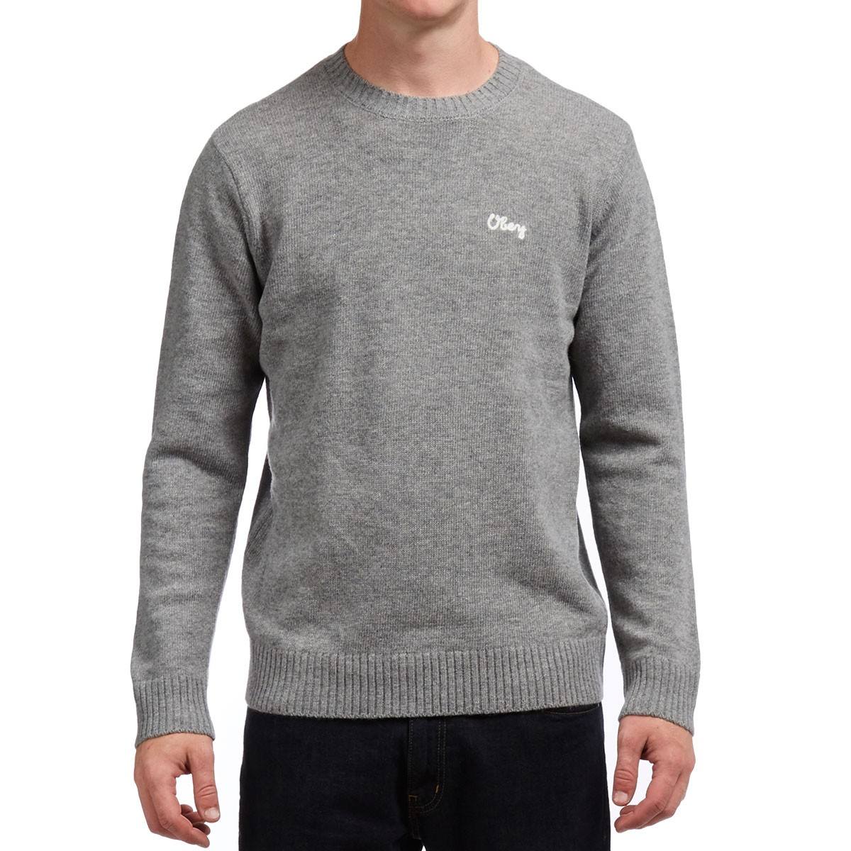 Obey Camden Sweater - Heather Grey