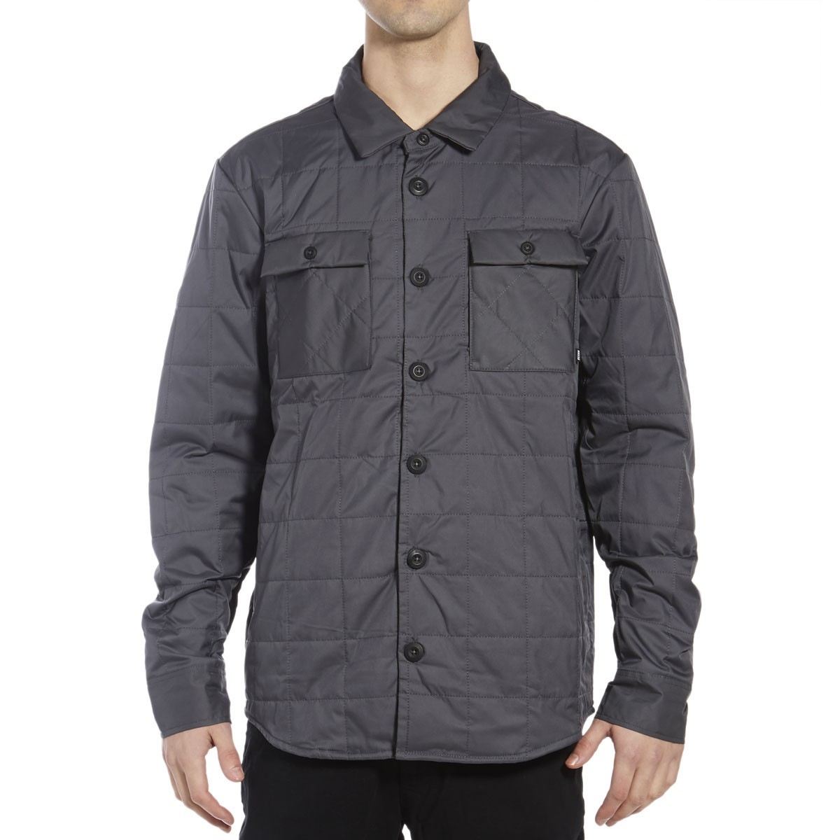 SB Holgate Winterized Long Sleeve Shirt - Dark Grey