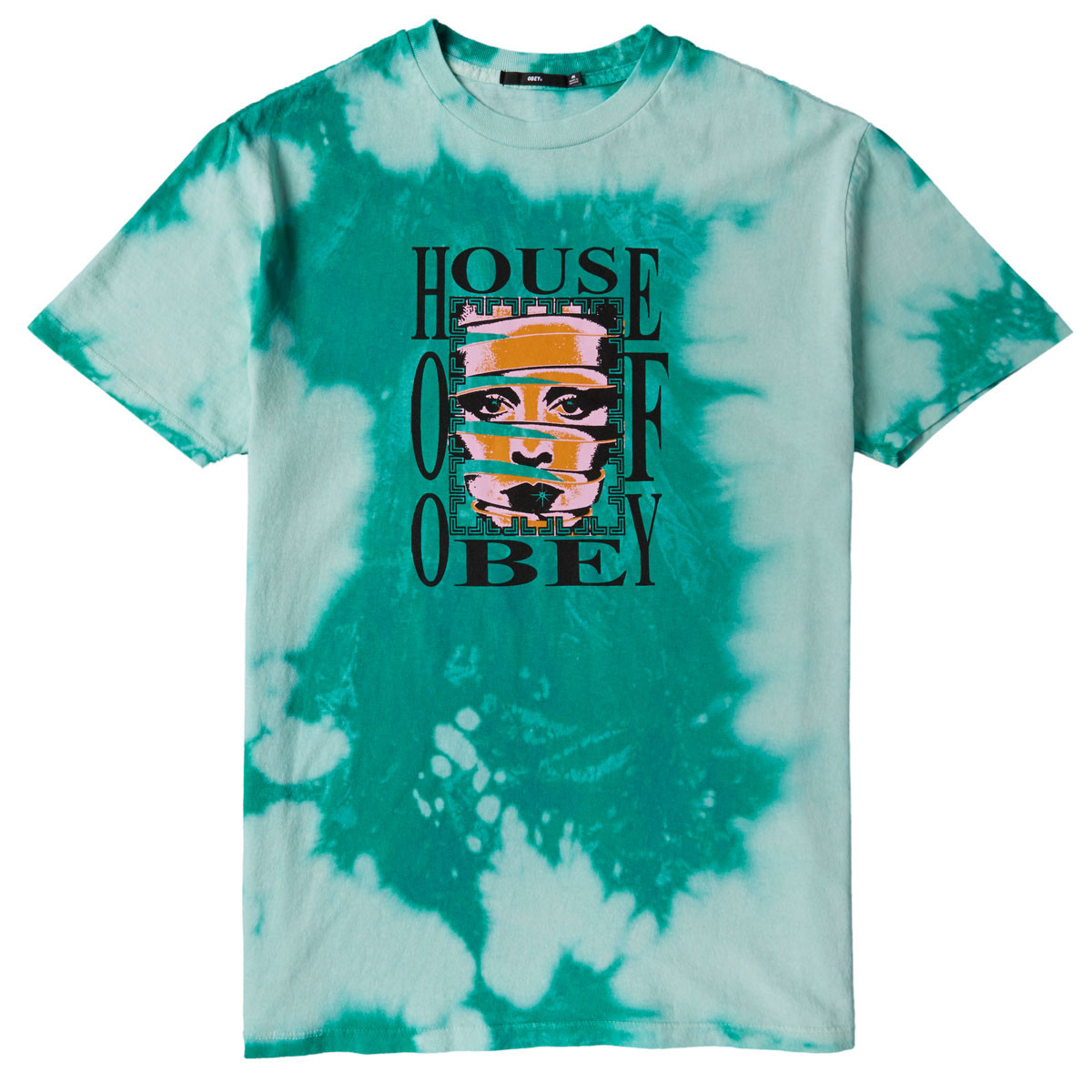 release date hot-selling cheap sale uk Obey House Of Obey T-Shirt - Teal