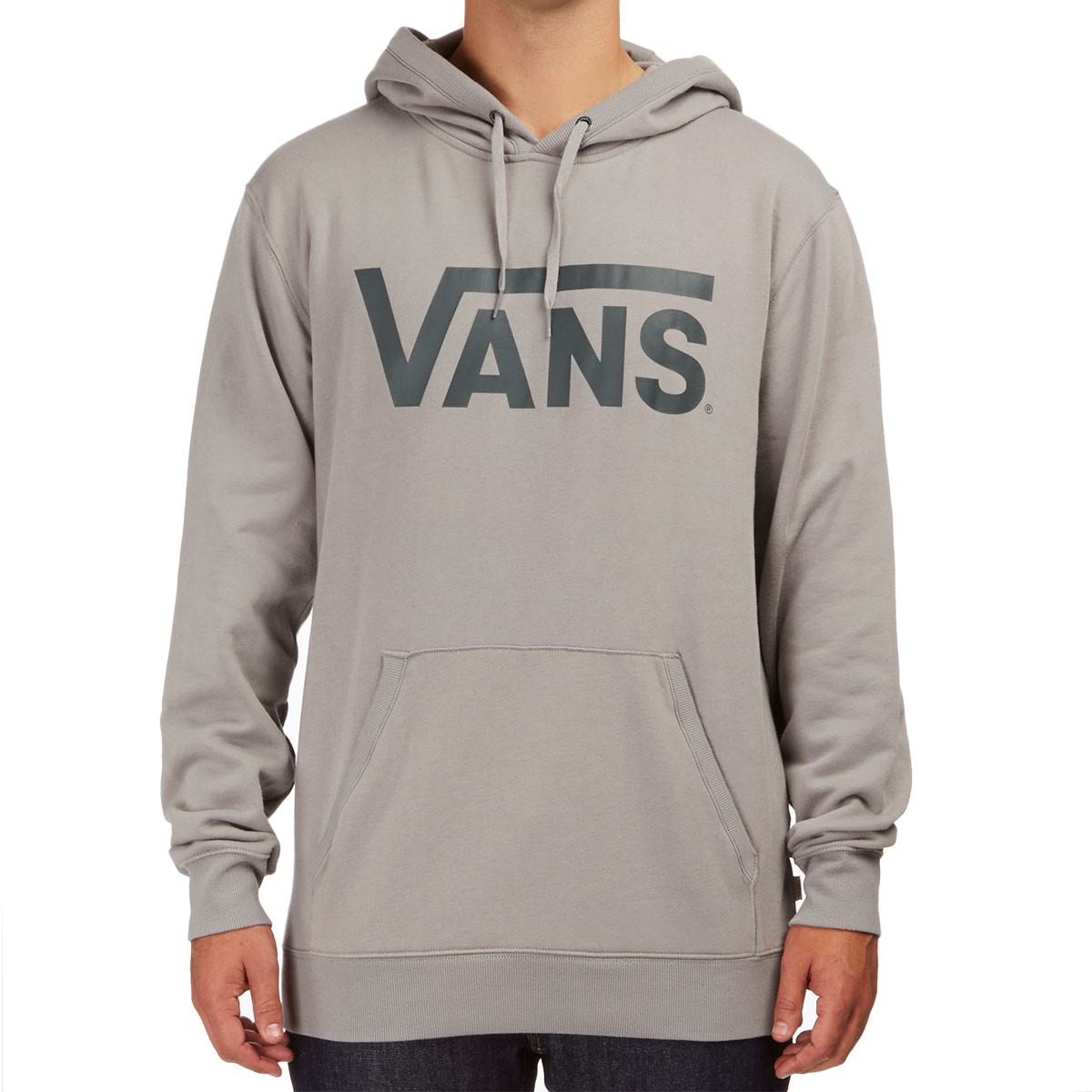 Vans Classic Pullover Hoodie - Frost Grey New Charcoal c3a759ab896