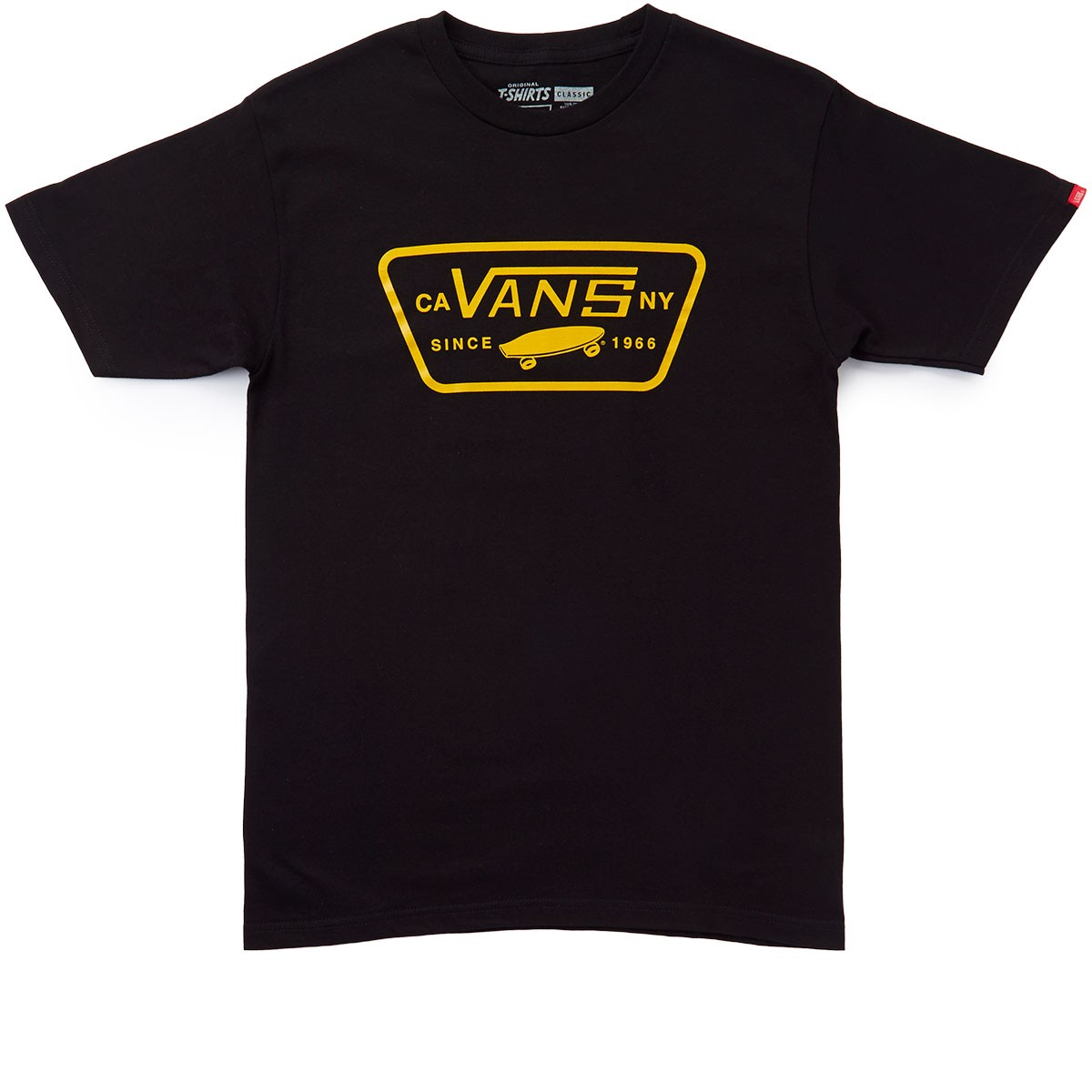 a9fb069c Vans Full Patch T-Shirt - Black/Cathay Spice