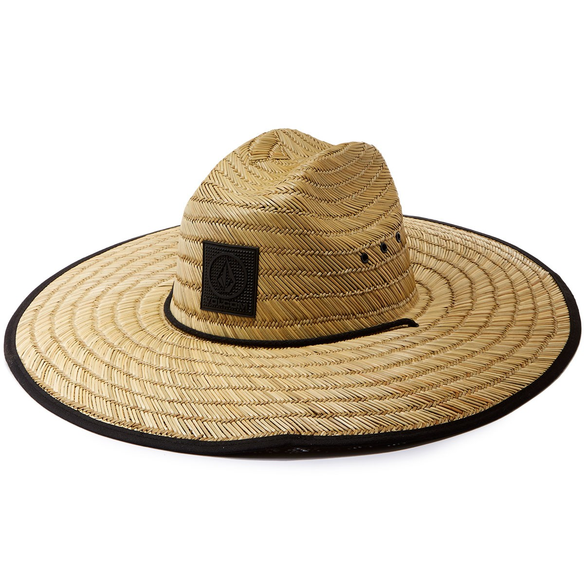 save off 8f498 ad042 Volcom Turdle Straw Hat - Natural