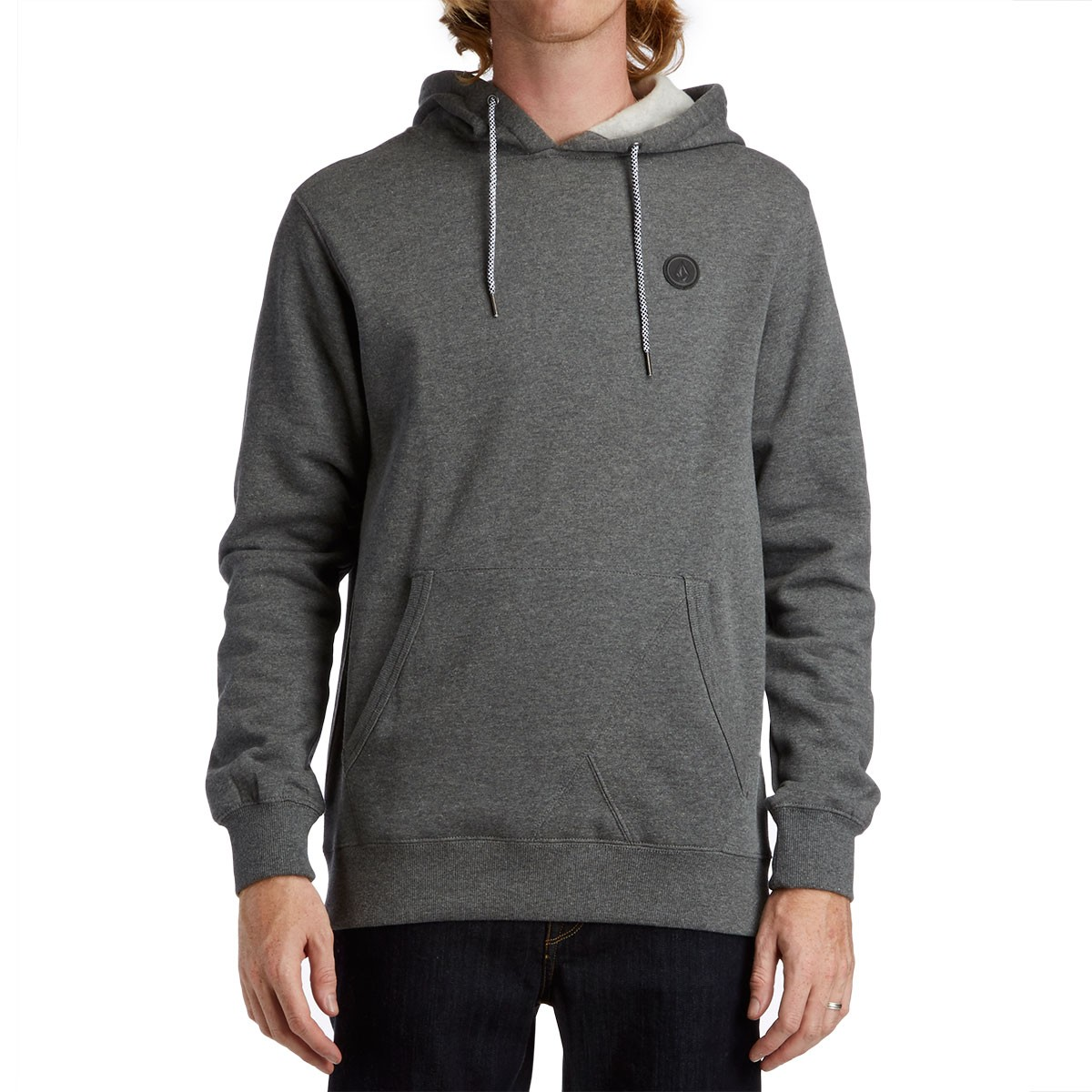 Single Stone Pullover Hoodie - Dark Grey