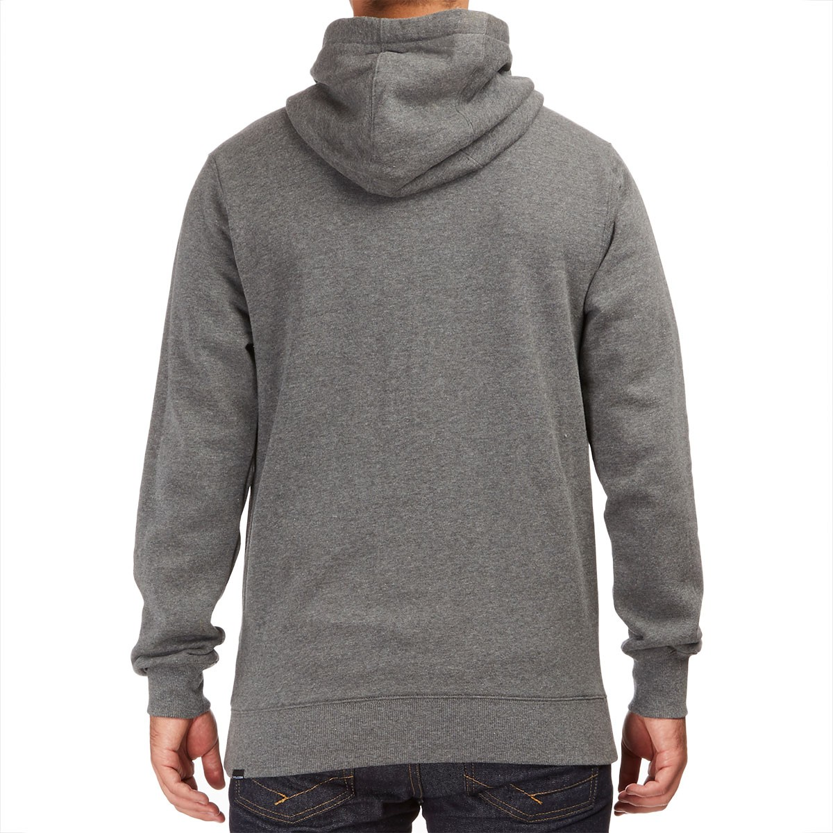 Single Stone Zip Hoodie - Dark Grey