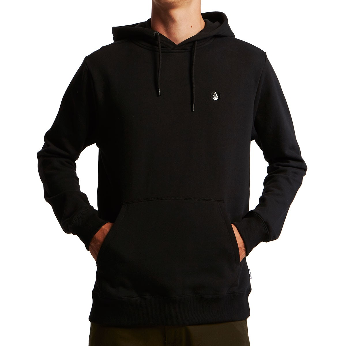 low cost best service shades of Volcom Single Stone Basic Pullover Hoodie - Black