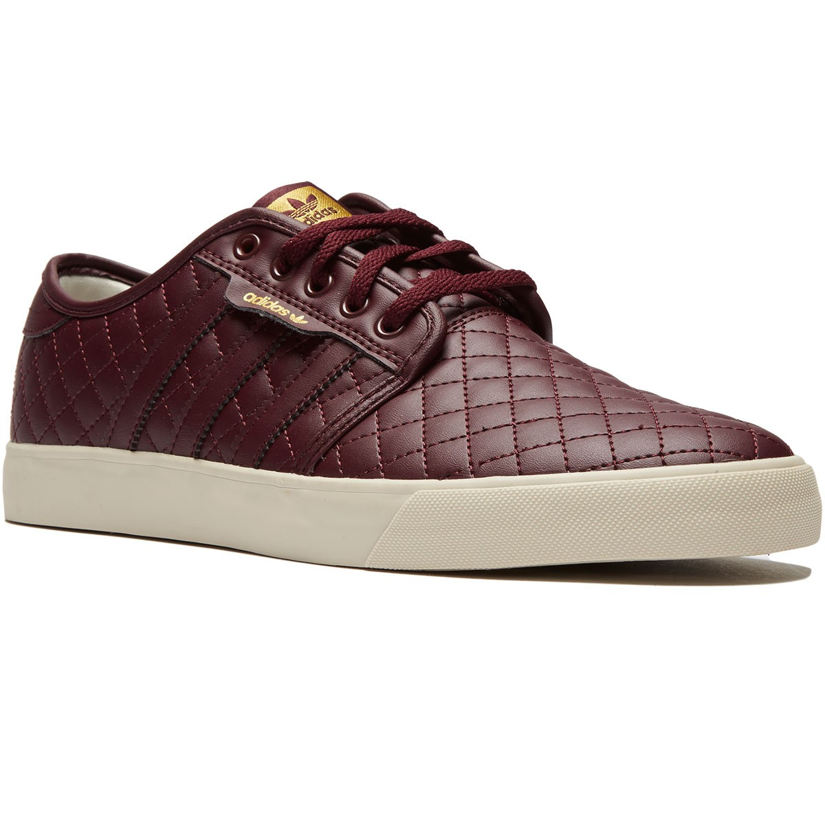 Adidas Seeley Shoes - Maroon/Maroon/Clear Brown