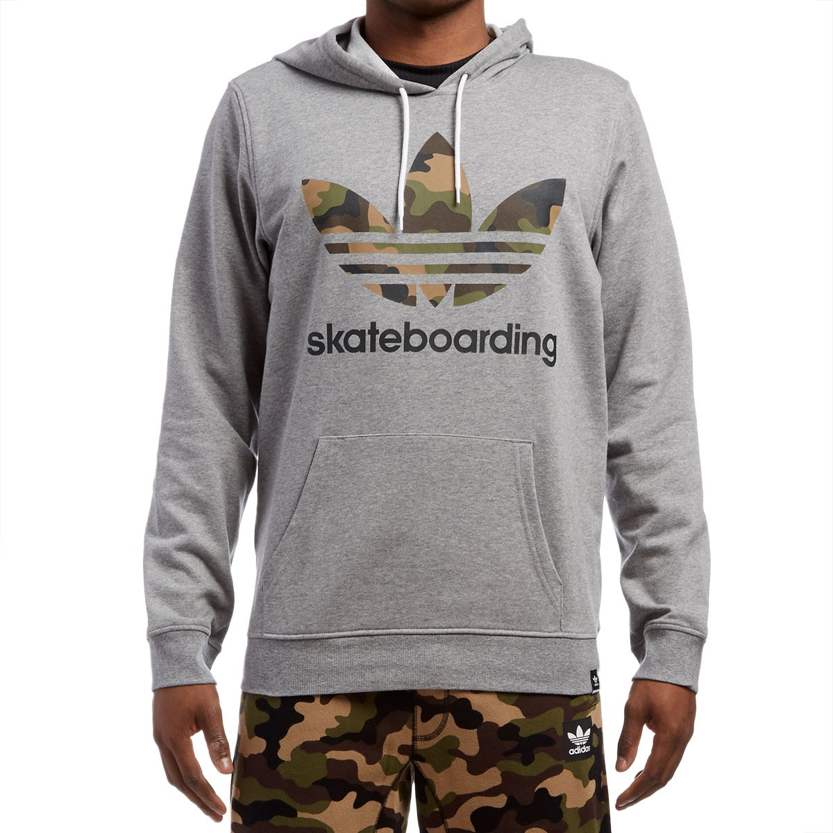 adidas clima 3 0 camo hoodie core heather. Black Bedroom Furniture Sets. Home Design Ideas