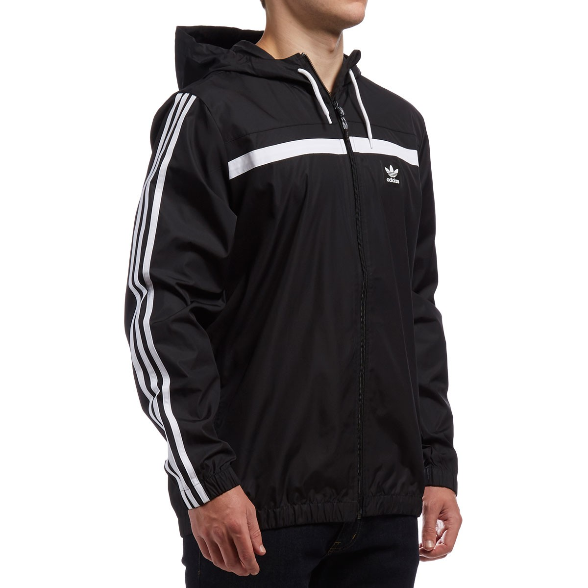 0e03860a5 Adidas Windbreaker 2 Jacket - Black/White