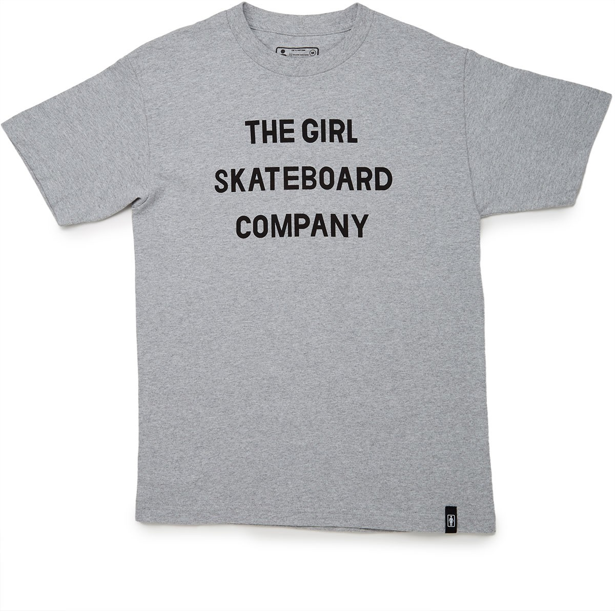 Girl Sans Co T-Shirt - Grey Heather