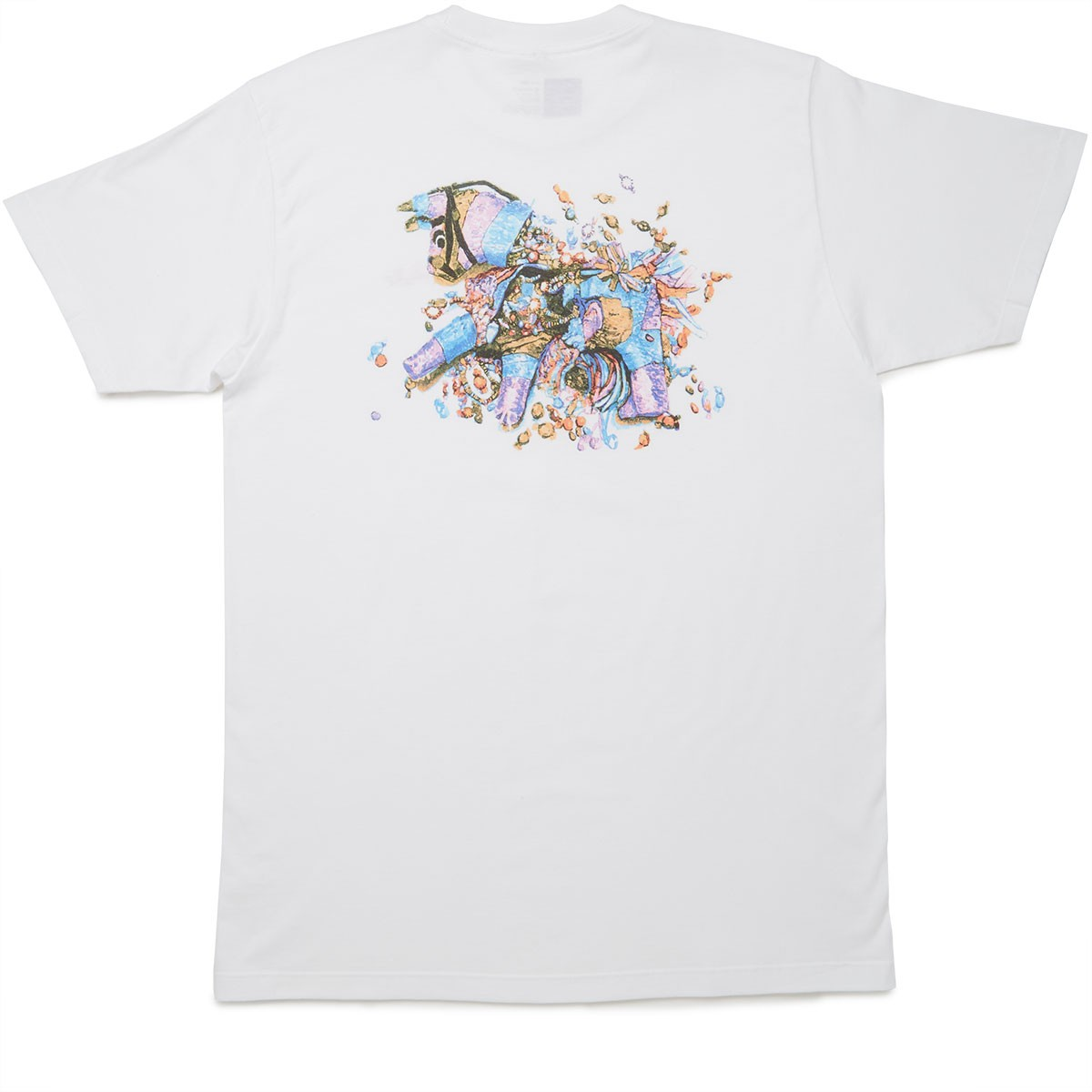 Chocolate Tradiciones Pinata T-Shirt - White