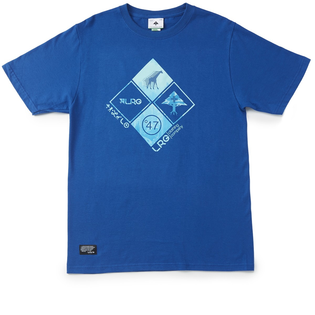 LRG RC Clustered Front T-Shirt - Gibson Blue
