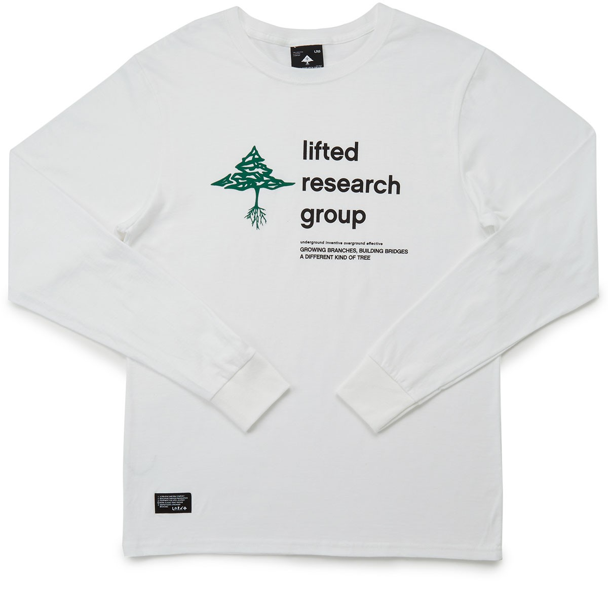 LRG RC The Old Tree Long Sleeve T-Shirt - White