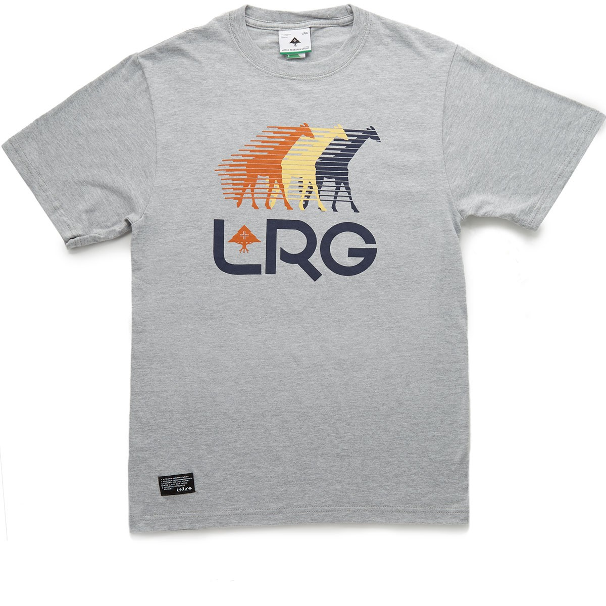 LRG RC Front Runners T-Shirt - Ash Heather