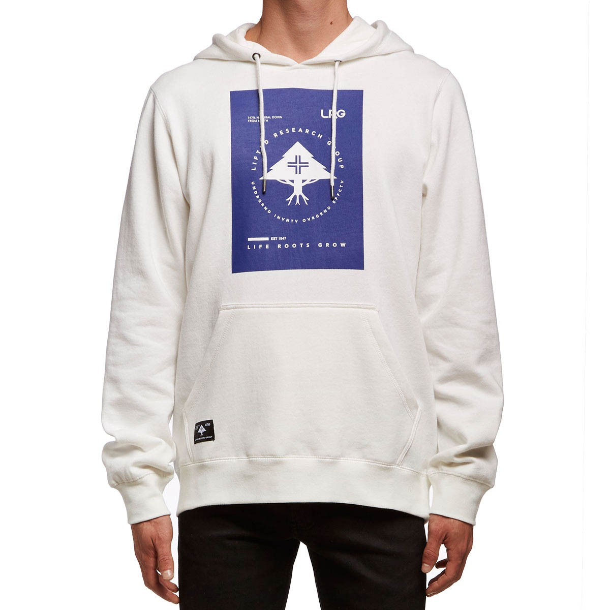 LRG Life Roots Pullover Hoodie - White