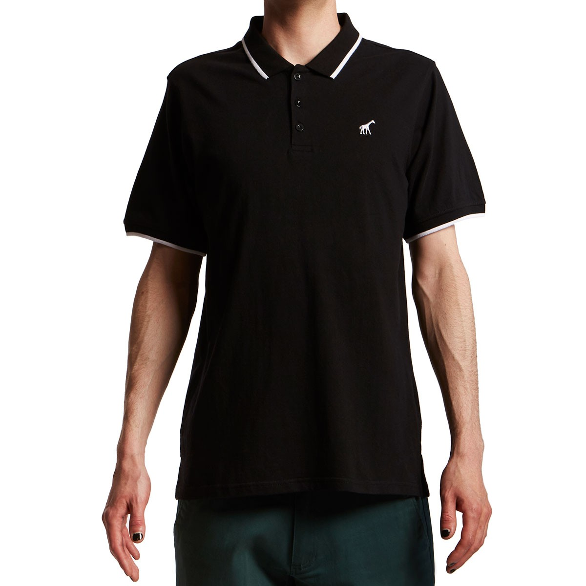 Lrg jiggy type polo shirt black for Different types of polo shirts