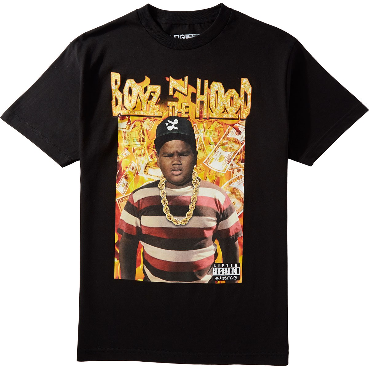 Lrg X Boyz N The Hood Dough Boy T Shirt Black