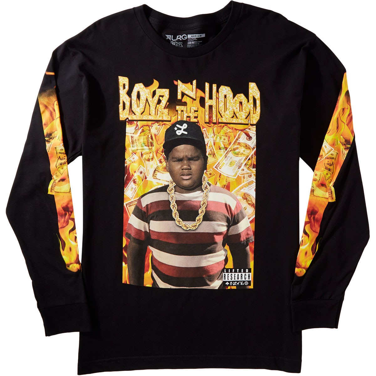 Lrg X Boyz N The Hood Dough Boy Longsleeve T Shirt Black